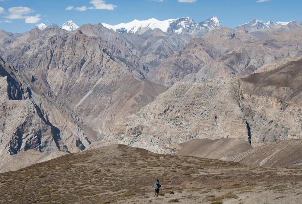 Au Dolpo… ascensions, treks engagés et exploration.