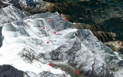L'ascension du Gurja Himal, à l'automne 2018