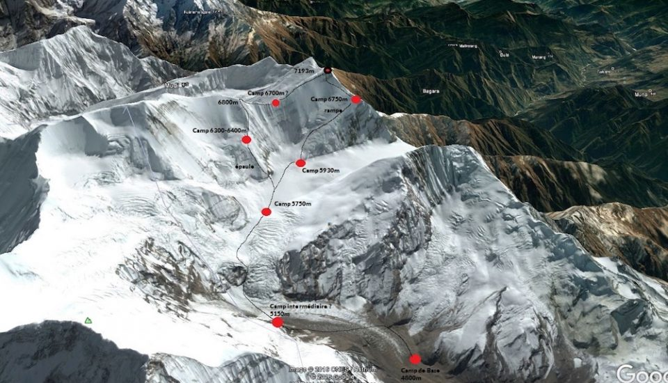 L'ascension du Gurja Himal, à l'automne 2018
