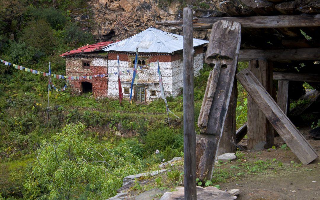 Pugmo, un village du Dolpo : les gompas de Pumer