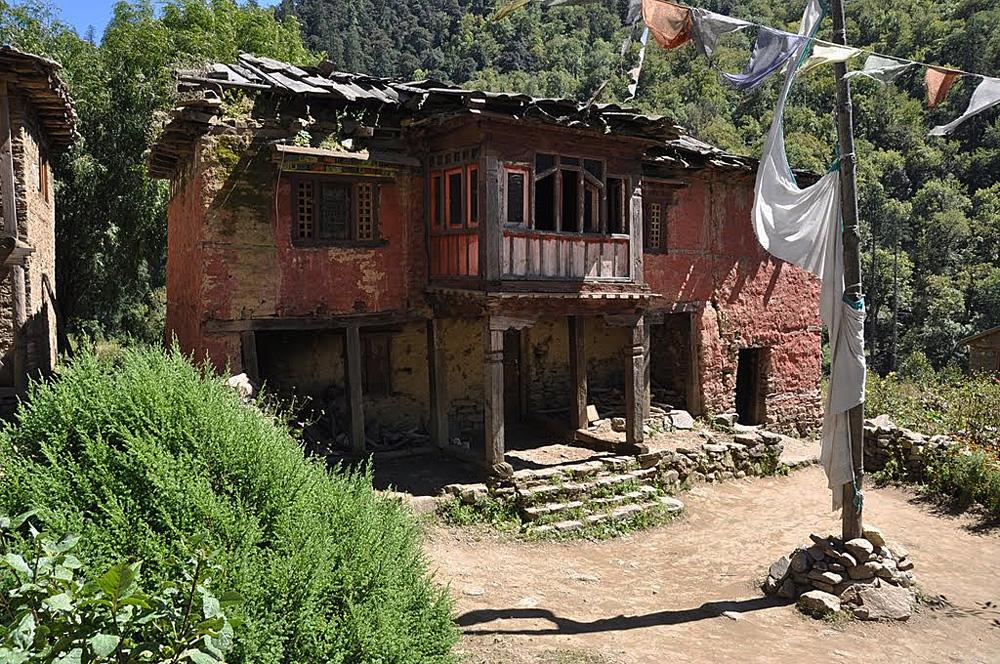 Hurikot, Dolpo, La gompa de Yungdrung Drodüling